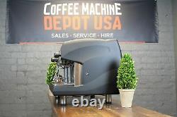 Wega Polaris High Cup 2 Group Matte Black Commercial Espresso Machine