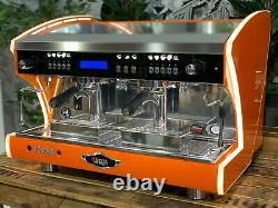 Wega Polaris Tron 2 Group Orange Brand New Espresso Coffee Machine Commercial
