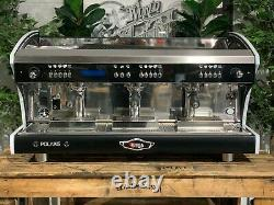Wega Polaris Tron 3 Group Brand New Black Espresso Coffee Machine Commercial Bar