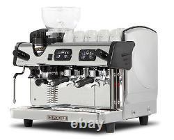Zircon Integral 2 Group Espresso Coffee Machine Automatic Grinder Boiler 11.5 L