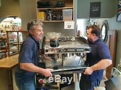 2010 Expobar G10 Ma-c-2 2gr Groupe Barista Machine À Café Espresso Cappuccino