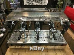 3 Groupe Orchestrale Etnica En Acier Inoxydable Espresso Machine À Café De Commerce
