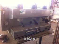 Antique Vintage La Cimbali Granluce Espresso Machine À Café Maker 3 Groupe