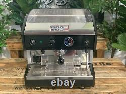 Astoria Espressimo 1 Groupe Black Grey Espresso Coffee Machine Commercial Cafe