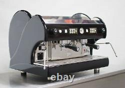 Astoria Planet 2 Groupe Espresso Machine Deep Luxurious Jet Black