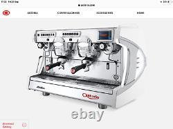 Astoria Sabrina 2 Groupe Espresso Machine À Café (chrome)