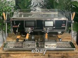 Astoria Storm 2 Groupe Black And Timber Tout Nouveau Espresso Coffee Machine Cafe