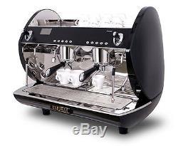 Automatique Commercial Carat Eco Display 2group Espresso Machine À Café Électronique