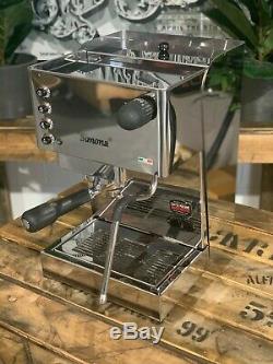 Brugnetti Simona 1 Groupe Acier Inoxydable Marque Nouvelle Machine À Café Espresso Accueil