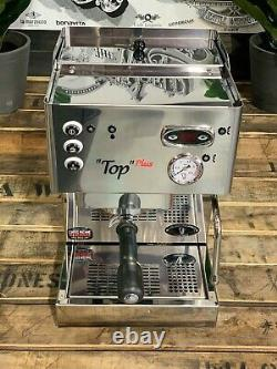 Brugnetti Top Plus 1 Groupe Nouvelle Machine À Café Espresso En Acier Inoxydable