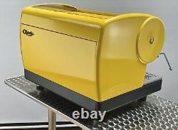 Cma Astoria 2 Groupe Lisa Café Espresso Machine Bright & Bold Yellow