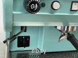 Cma Astoria 2 Groupe Lisa Coffee Espresso Machine Beautiful Duck Egg Blue