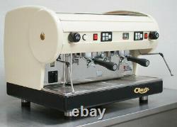 Cma Astoria 2 Groupe Lisa Coffee Espresso Machine Lustrous Cream