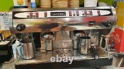 Cma Astoria 2 Groupe Marisa Café Espresso Machine En Acier Inoxydable