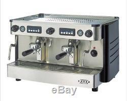 Commercial Iberital Lanna Deux Groupes Entièrement Machine À Café Automatique (entièrement Équipés)