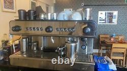 Couleur Douanière / Bespoke Iberital Ib7 2 Groupe Espresso Machine À Café (tva Incluse)