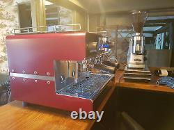 Custom / Couleur Sur Mesure Iberital Ib7 2 Groupe Espresso Machine À Café (tva Incluse)
