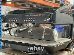 Dual Carburant Rénové Faema Ambassadeur E91 Espresso Machine À Café 2 Groupe