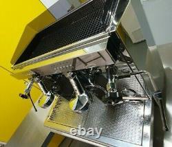 Ecm Barista A2 2 Groupe Commercial Machine À Café Espresso Inoxydable