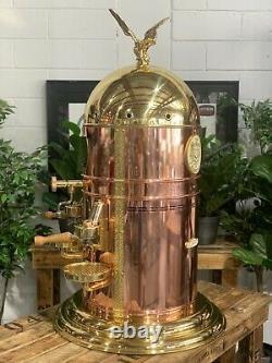 Elektra Belle Epoque 3 Groupe Flambant Neuf Or Et Bronze Espresso Coffee Machine