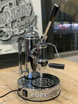 Elektra Micro Casa Leva 1 Groupe Brand New Machine À Café Chrome Espresso Accueil