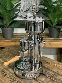 Elektra Micro Casa Semiautomatica 1 Groupe Nouveau Chrome Espresso Coffee Machine Bar