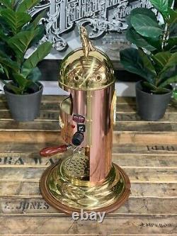 Elektra Mini Vertical 1 Groupe Nouveau Bronze Gold Bronze Espresso