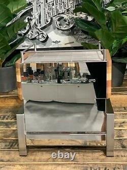 Elektra Verve Levetta 1 Groupe Flambant Neuf Stainless Timber Espresso Coffee Machine