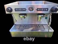 Elite Commercial Coffee Machine 2 Group, Barista, Espresso, Capucin