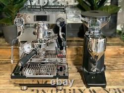 Expobar Crem One 1 Groupe Espresso Machine À Café Et Moulin À Café Quamar Q50