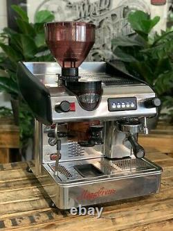 Expobar Megacrem & Grinder Intégré 1 Groupe Machine À Café Espresso Inox