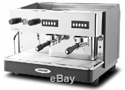 Expobar Monroc 2 Groupe Commercial Espresso Machine À Café Café Restaurant Bistro