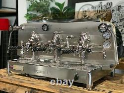 Faema E61 Jubilee 3 Groupe Flambant Neuf En Acier Inoxydable Espresso Coffee Machine Cafe