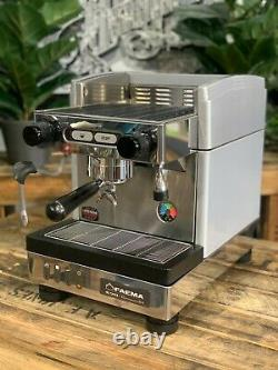 Faema E98 Compact S1 1 Groupe Grey Espresso Machine À Café Commercial Home Office