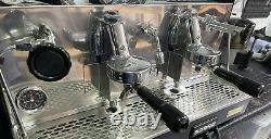 Fiorenzato 2 Groupe Commercial Espresso Machine À Café + Grinder + Barista Kit