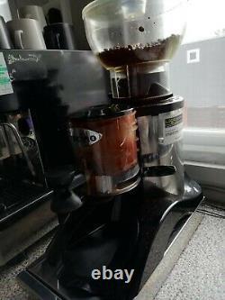 Fracino Auto 2 Groupe Espresso / Cappuccino Silver Machine 4 Cup + Moulin À Café