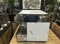 Fracino Contempo 2 Groupe Double Carburant Acier Inoxydable Nouvelle Machine À Café Espresso