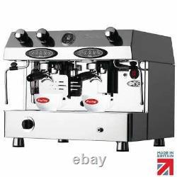 Fracino Contempo 2 Groupe Electronic Dual Carburant Machine À Café