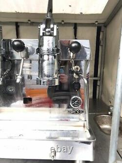 Fracino Contempo Espresso Machine 2 Groupe Dual Fuel Retro Lever