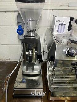 Fracino Contemporain 3 Groupe Espresso Machine À Café + Broyeur Mazzer + Tiroir + Kit