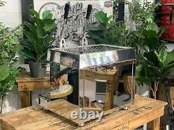 Fracino Retro 2 Groupe Dual Carburant Inox Marque Nouveau Café Espresso