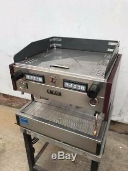 Gaggia 2 Groupe Machine À Café / Espresso Italien (pièces De Rechange Ou De Réparation)