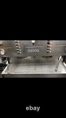 Gaggia Gd 3 Groupe Espresso Machine Argent