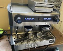 Grigia Promac Green Cme 2 Groupe Commercial Coffee Espresso Machine + Knock Box
