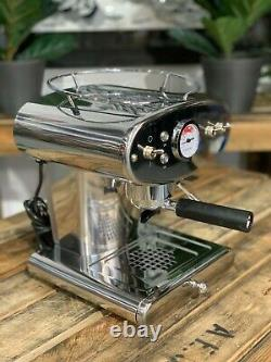 Illy Francis Francis X1 Nouvelle Marque 1 Groupe Machine À Café Espresso Inoxydable