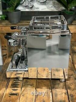 Isomac Pro 6.1 1 Groupe Acier Inoxydable Flambant Neuf Espresso Coffee Machine Accueil