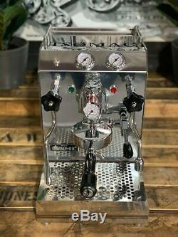 Isomac Thé Due 1 Groupe Acier Inoxydable Marque Nouvelle Machine À Café Espresso Accueil