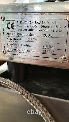 Izzo Italien Espresso 2 Groupe Lever Machine À Café