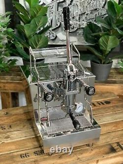 Izzo Valexia Spring Leva 1 Groupe Toute Nouvelle Machine À Café Espresso Inoxydable