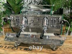 Kees Van Der Westen Mirage Duette 2 Groupe Inoxydable Espresso Coffee Machine Cafe